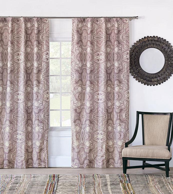 Zendaya Amethyst Curtain Panel