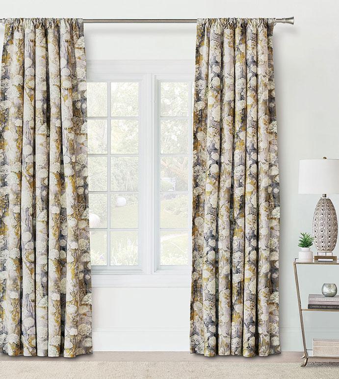 Evangeline Rod Pocket Curtain Panel In Pastel