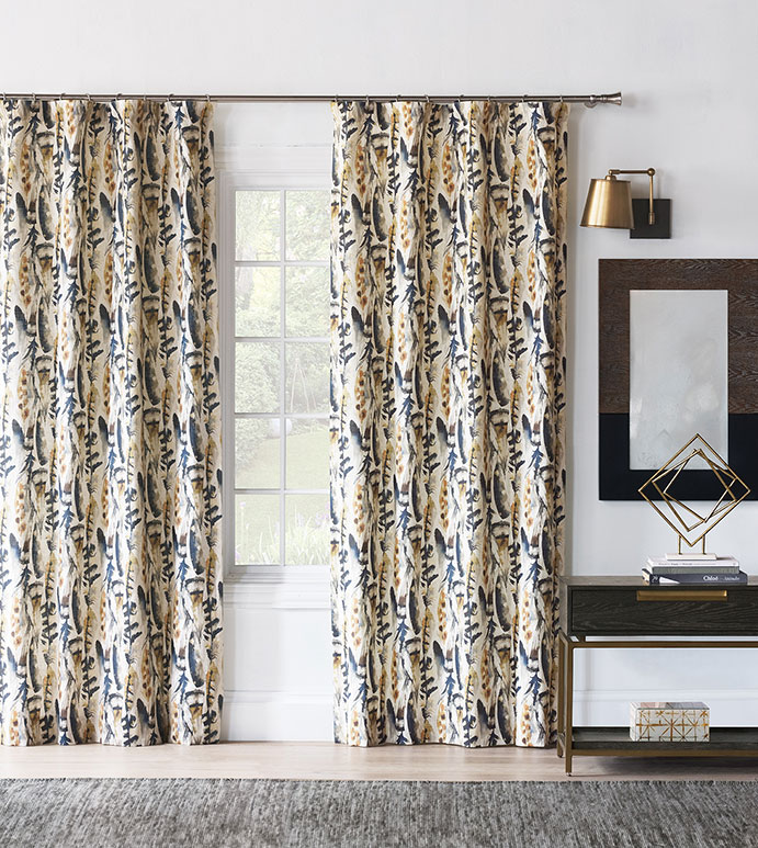 Sprouse Watercolor Curtain Panel