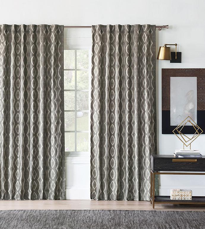Echo Ogee Curtain Panel