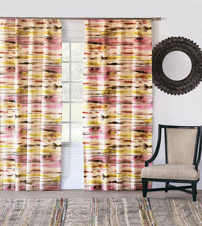 Keely Sunset Curtain Panel