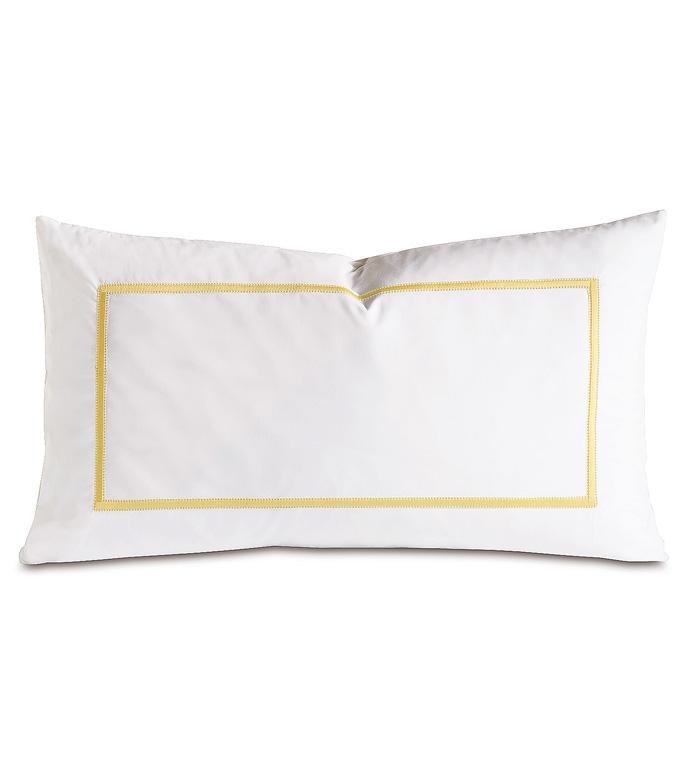 Gala Lemon Decorative Pillow - ,