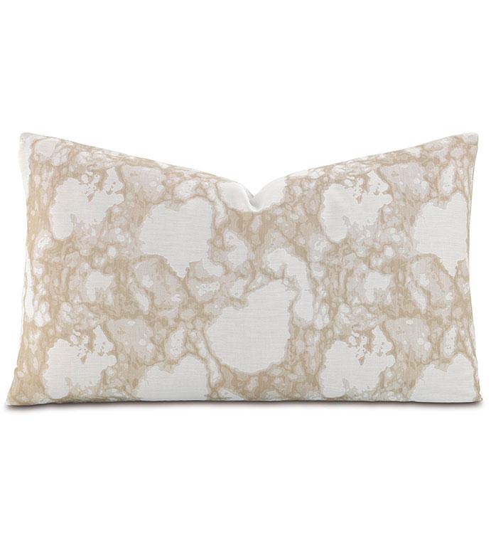 Lagos Sand Oblong Accent Pillow - ,