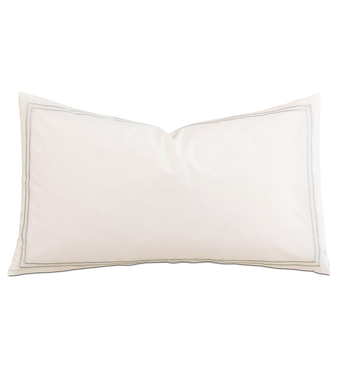 Enzo Ivory/Silver With Flange - ,