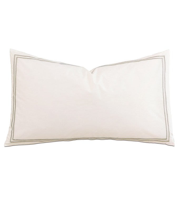 Enzo Ivory/Dove With Flange - ,