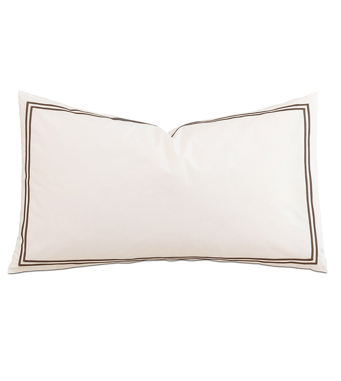 Enzo Ivory/Brown With Flange - ,