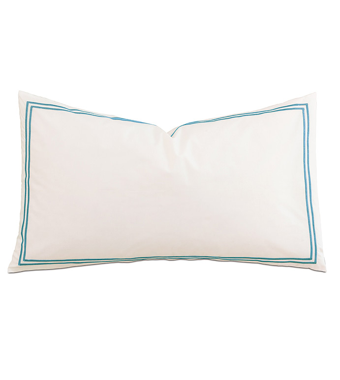 Enzo Ivory/Ocean With Flange - ,