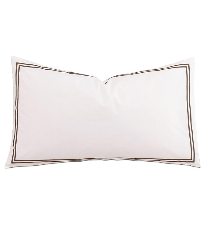 Enzo White/Brown With Flange - ,