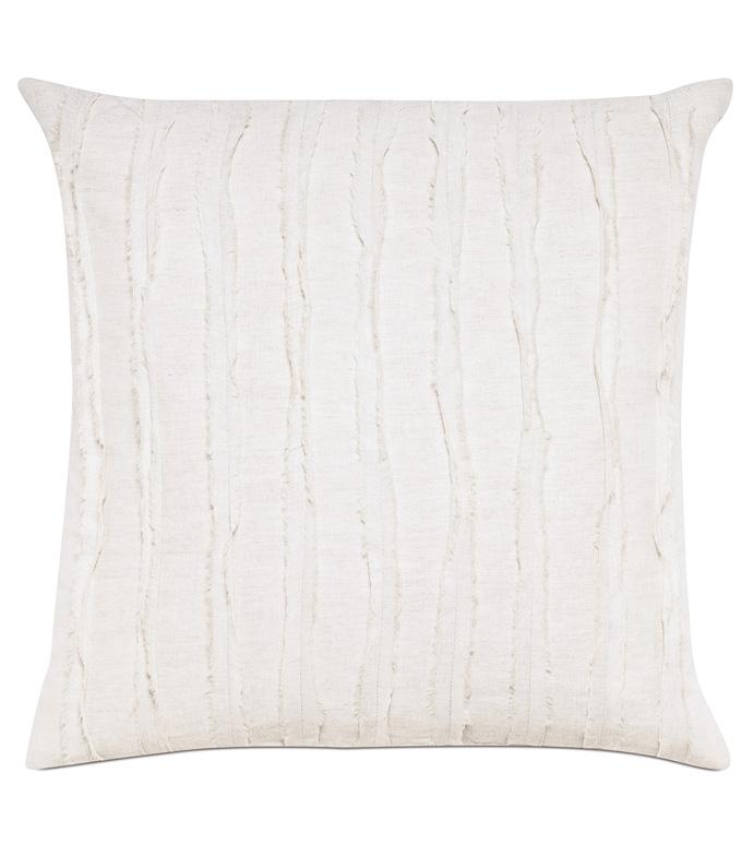 Shiloh Shell Square Decorative Pillow - ,