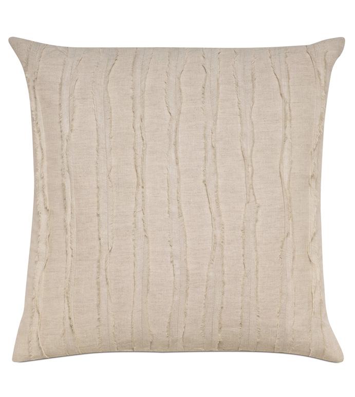 Shiloh Linen Square Decorative Pillow - ,