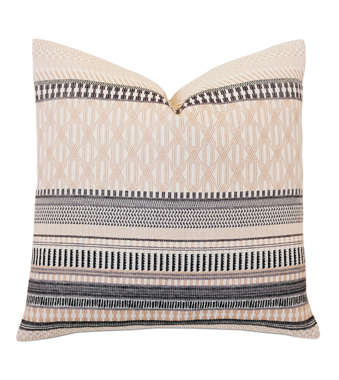 Willow Matelasse Accent Pillow In Neutral - ,