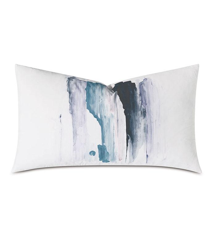 Lyra Handpainted Decorative Pillow - ,HANDPAINTED PILLOW,HAND PAINTED PILLOW,HAND PAINTED DESIGN,WATERCOLOR DESIGN,WATERCOLOR PILLOW,PAINTED PILLOW,HAND PAINTED DECOR,ABSTRACT PILLOW,PAINTED THROW PILLOW,