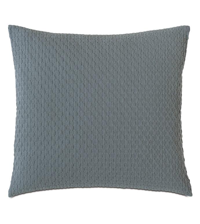Tegan Matelasse Decorative Pillow In Teal - ,