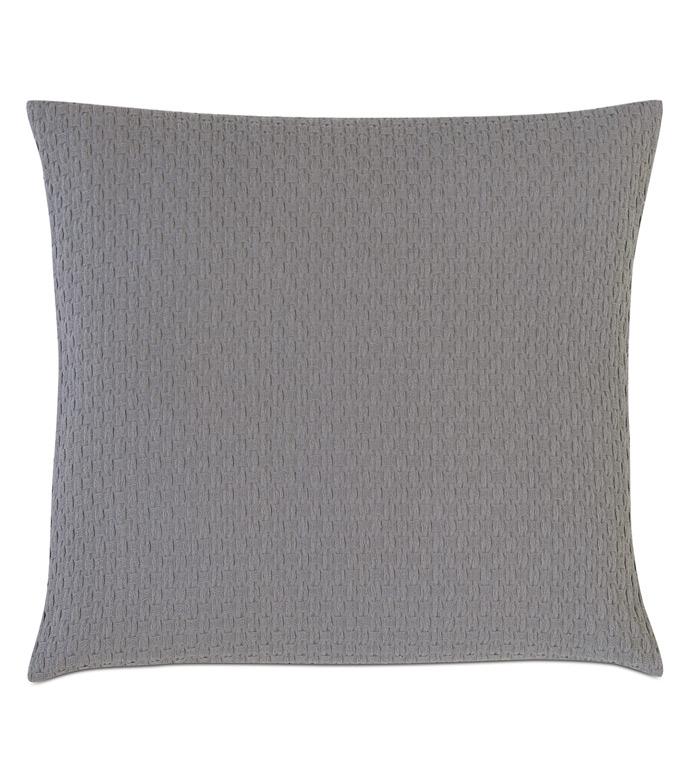 Tegan Matelasse Decorative Pillow In Dove - ,