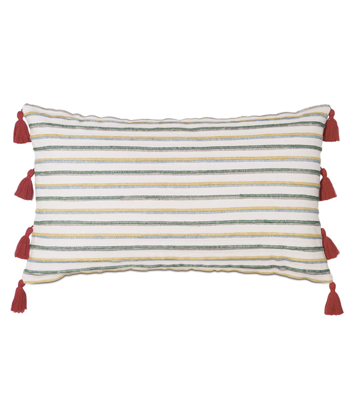 Akela Pleated Decorative Pillow - ,