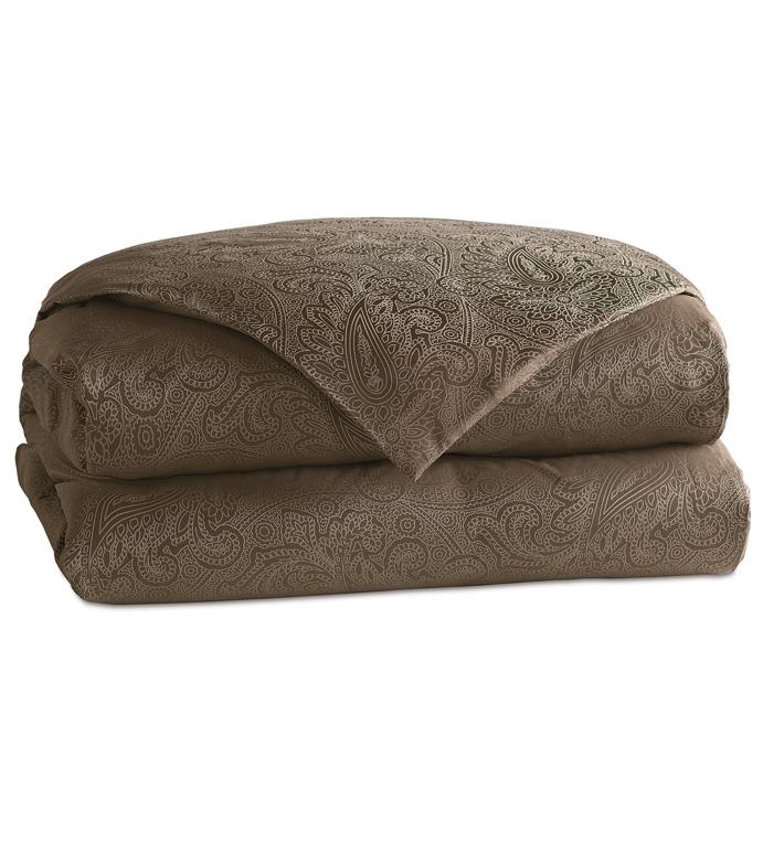 Lunetta Truffle Duvet Cover - ,