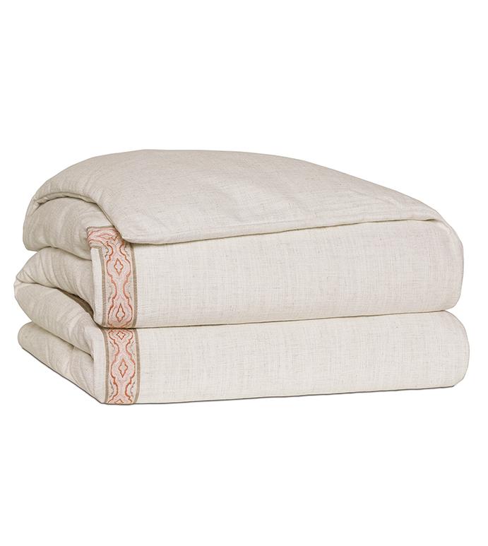 Ledger White Duvet Cover - DUVET COVER,QUEEN DUVET COVER,LINEN DUVET COVER,LINENS,LUXURY BEDDING,DOUBLE SIDED DUVET,CUSTOMIZABLE DUVET,TOP OF BED COVER,DUVET,BEDDING,HIGH END BEDDING,LUXURY LINENS