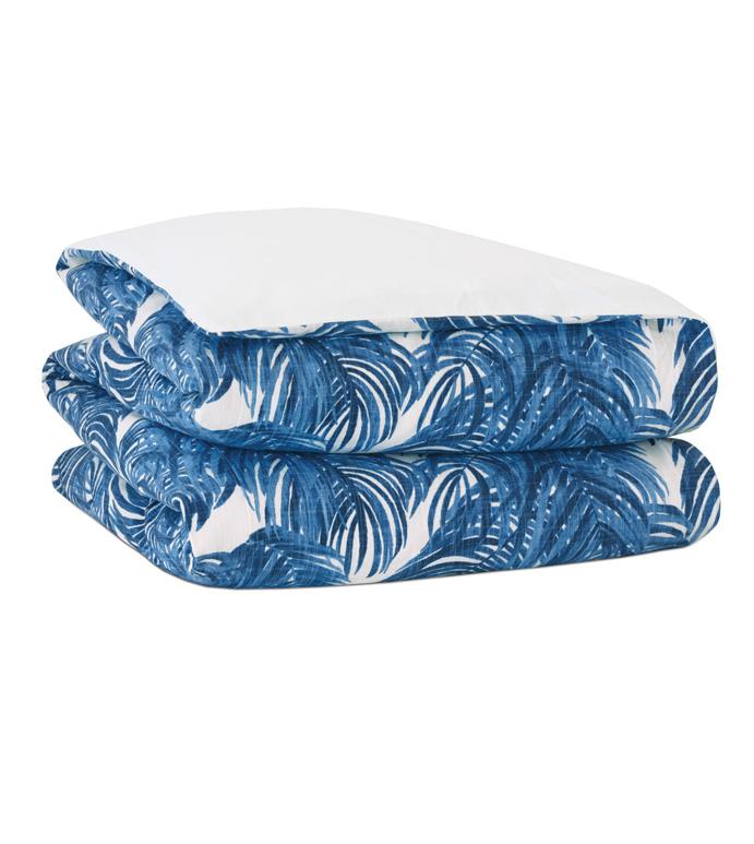 Malia Cobalt Duvet Cover - ,