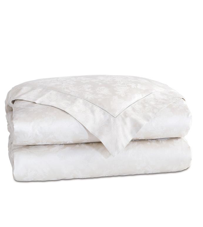 Millefleur White Duvet Cover - ,