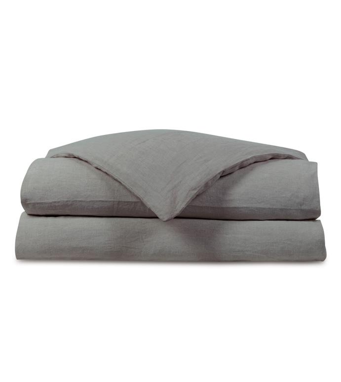 Shiloh Cement Duvet Cover - ,
