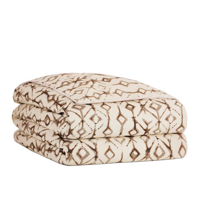 Yara Earth Duvet Cover And Comforter - ,