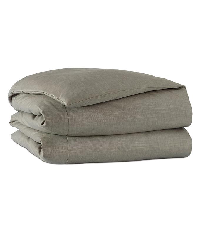 Echo Solid Duvet Cover
