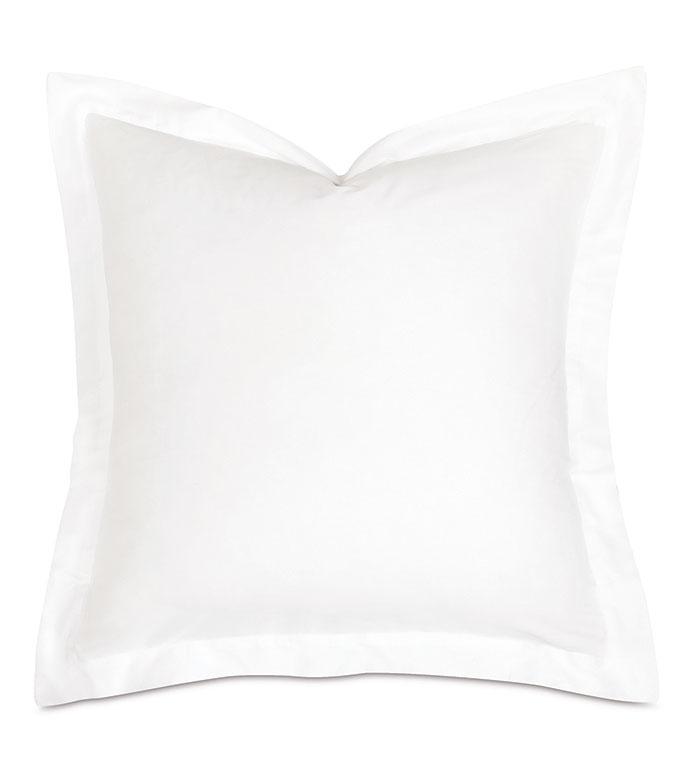 Fresco Classic White Euro Sham - ,