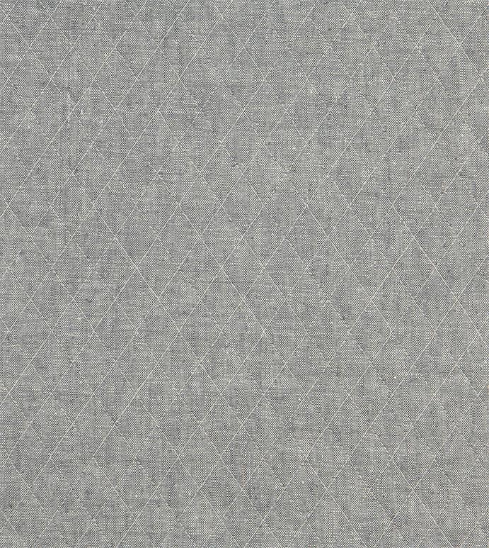 Bowen Slate - ,quilted fabric,linen blend fabric,quilting,quilted fabric by the yard,gray quilted fabric,gray fabric,fabric yaradge,pre-quilted cotton,prequilted fabric,diamond shape quilting,