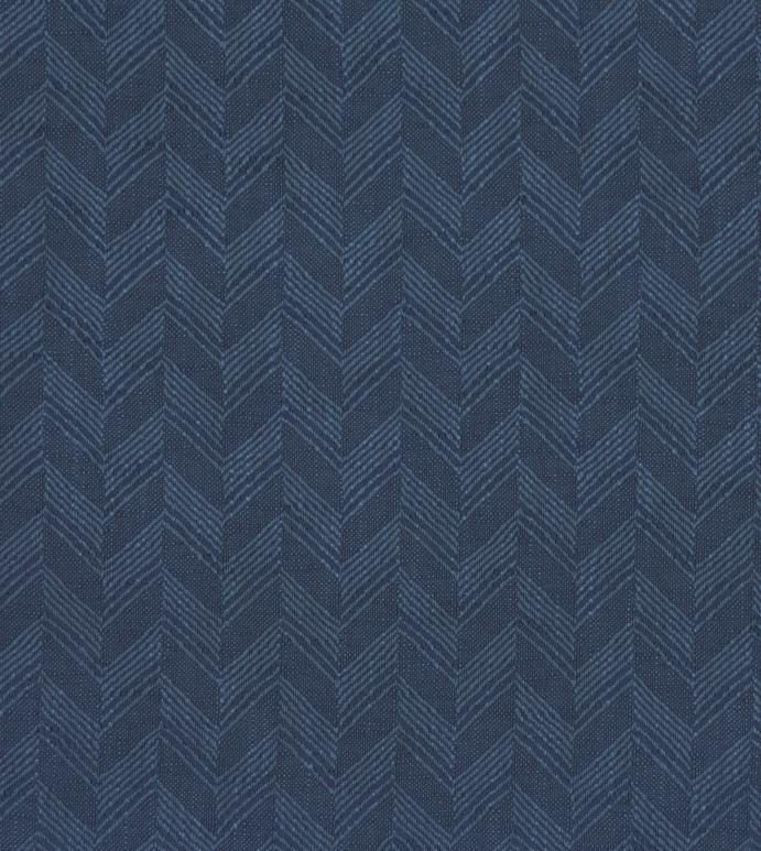 Pax Denim - ,blue fabric,yardage,upholstery,chevron fabric,chevron pattern,indigo fabric,chevron upholstery,textiles,blue fabric,