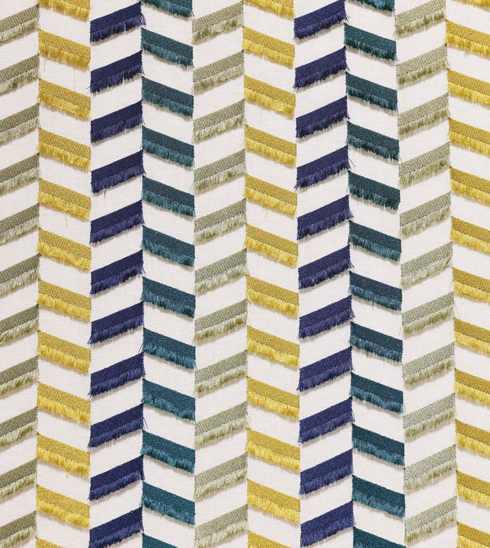 Sassy Matcha - ,100% linen,chevron,embroidery,chevron embroidery,fringe embroidery,broken chevron,upholstery,yardage,embroidered yardage,chevron fabric,textiles,embroidered fabric,linen fabric,