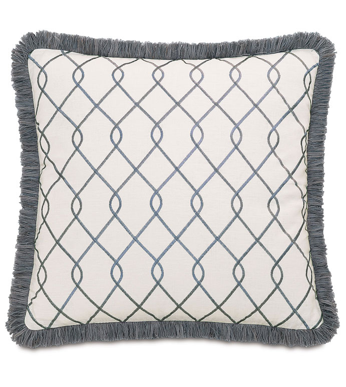 Terrace Gray With Brush Fringe - ,