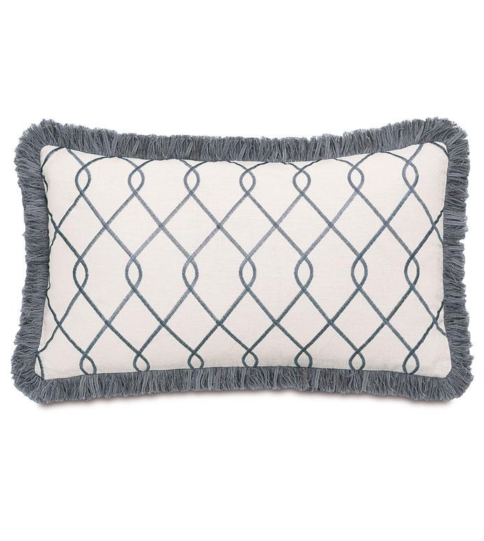 Terrace Grey With Brush Fringe - ,