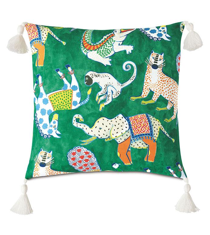 Hullabaloo Tassel Decorative Pillow