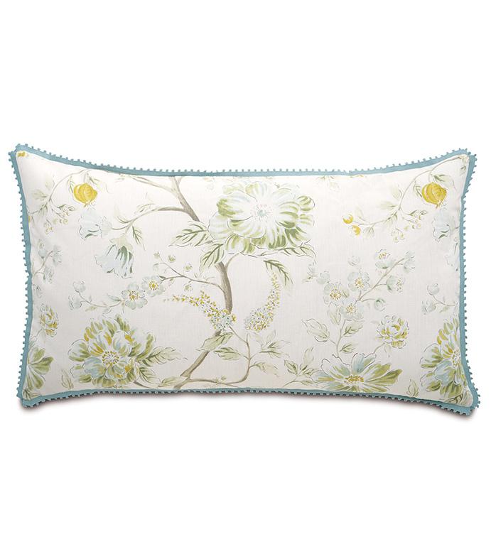 Magnolia Mint King Sham - ,