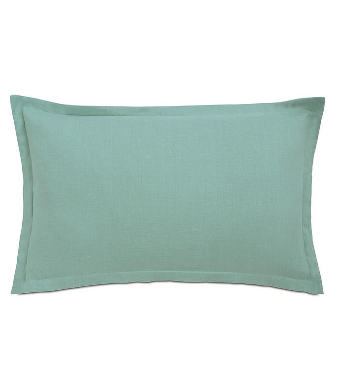 Breeze Aqua King Sham - ,