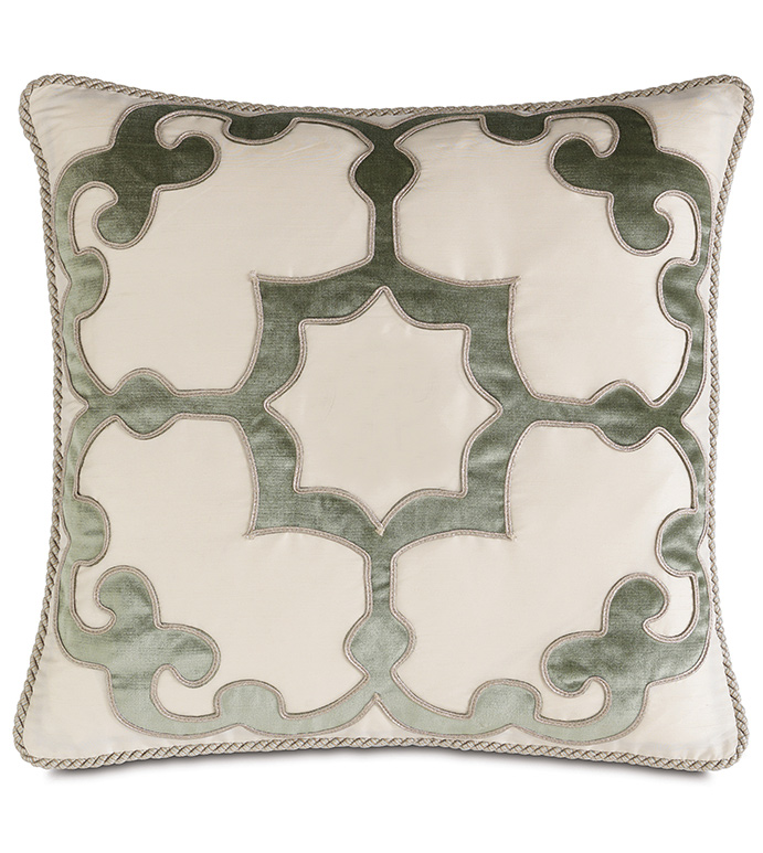 Lourde Motif With Cord - ,