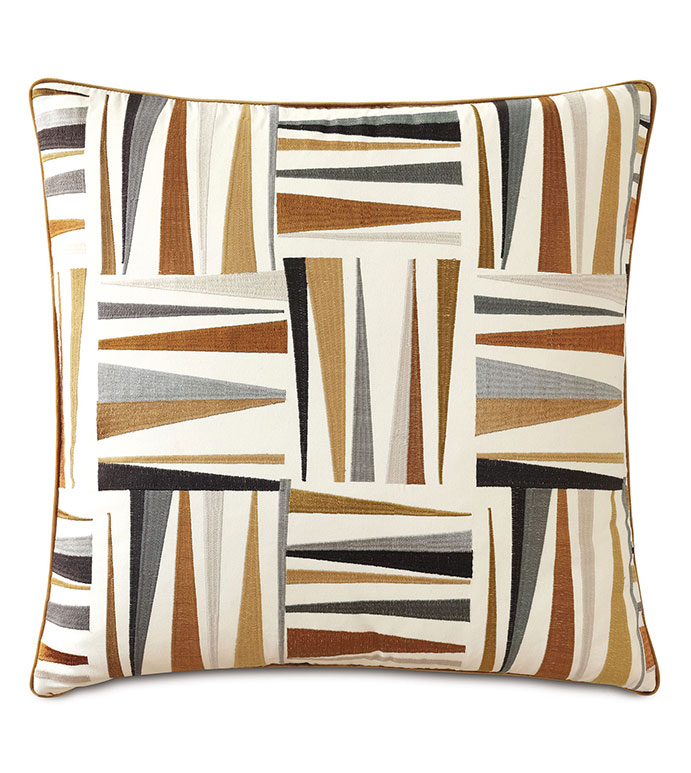 Medara Embroidered Decorative Pillow