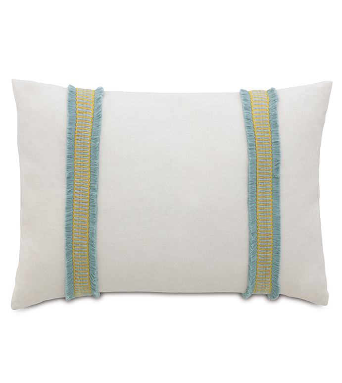 Filly White With Border - ,