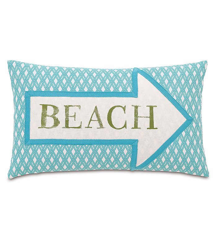 Beach Block-Printed - ,
