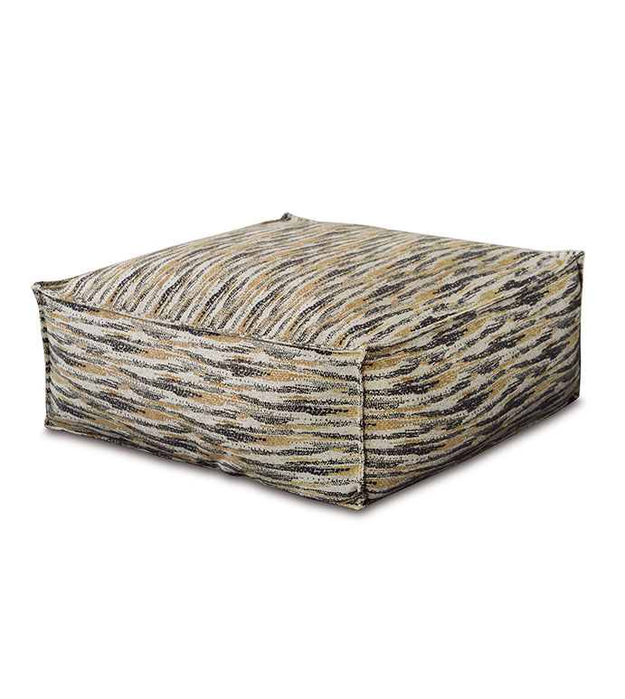 Kimahri Oversized Pouf - ,OVERSIZED POUF,FLOOR POUF,FLOOR SEATING,LARGE POUF,UPHOLSTERED POUF,LUXURY POUF,FLOOR PILLOW,NEUTRAL POUF,BROWN POUF,UPHOLSTERED FURNITURE,EARTH TONE FURNITURE,