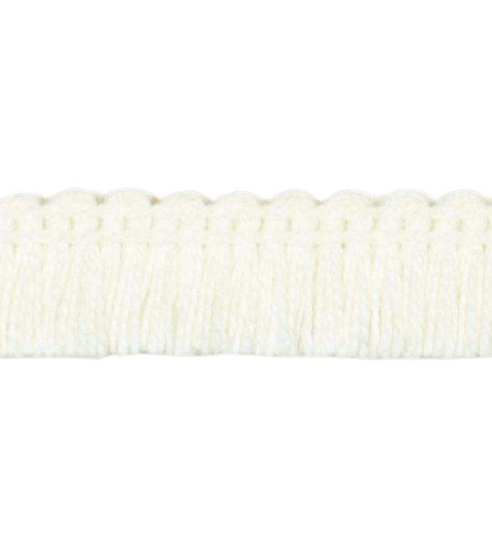 Brush Fringe Ceylon A (Ivory)
