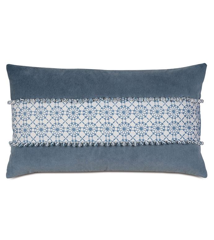 Penelope Stripe Decorative Pillow - ,