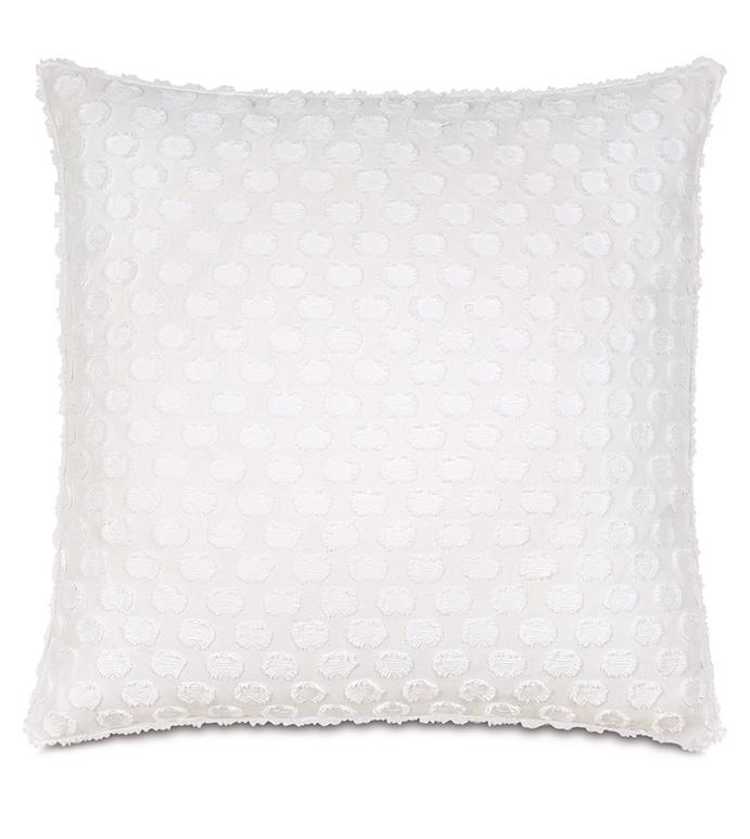Penelope Fil Coupe Decorative Pillow - ,