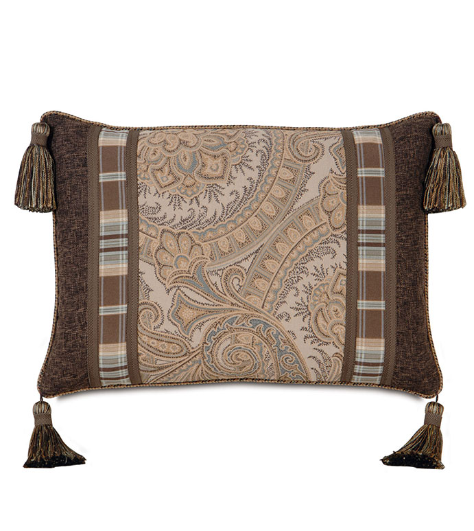Powell Insert With Cord & Tassels - ,