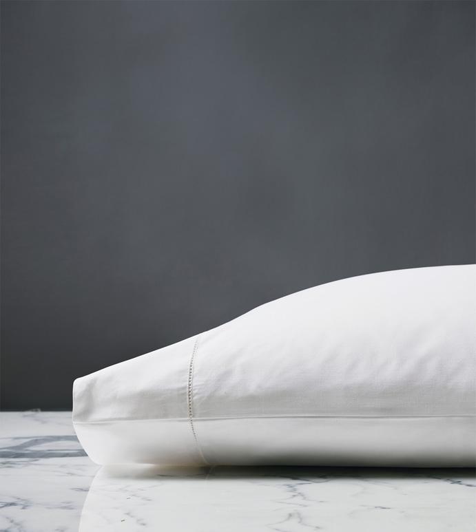 Roma Classic White Pillowcase