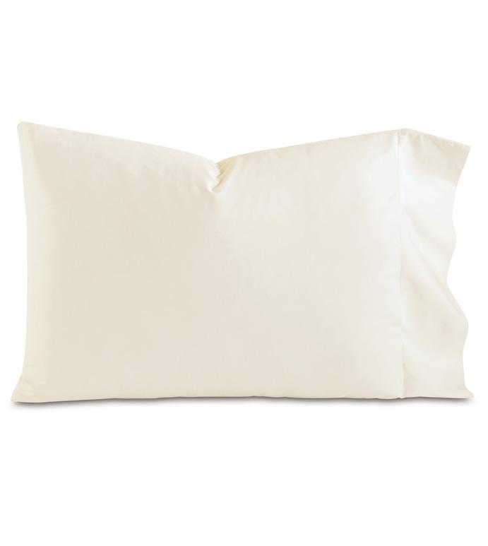 Fresco Luxe Ivory Pillowcase