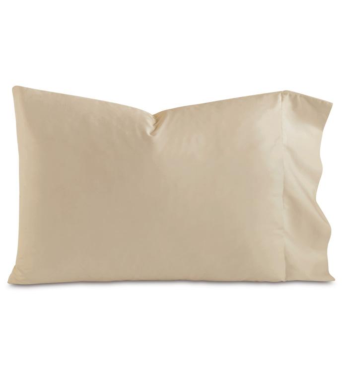 Fresco Luxe Sable Pillowcase