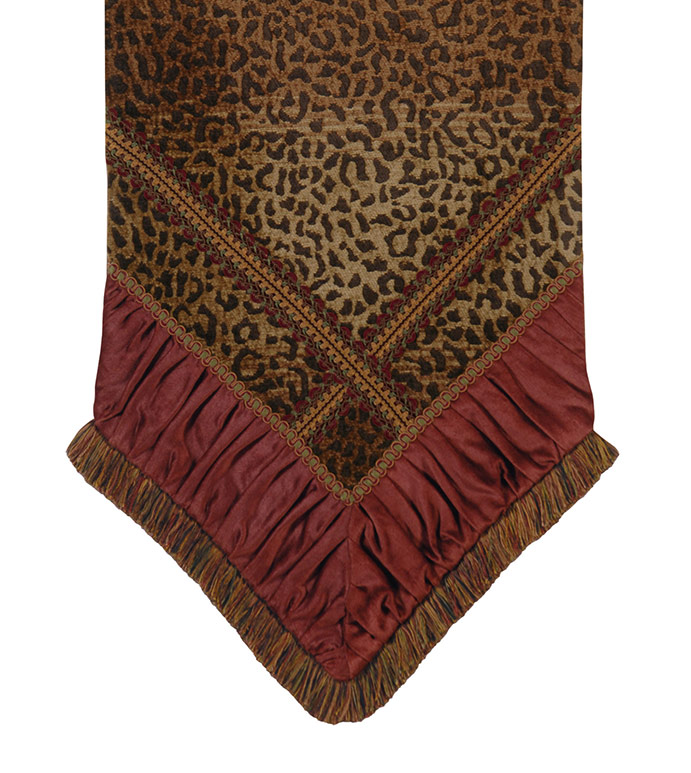 Congo Brown & Spice Runner - TABLE RUNNER, RUNNERS, TABLE TOP, TOPS,