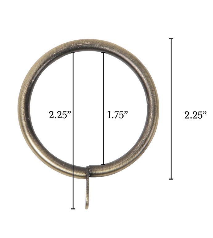 Metallo Brushed Brass Standard Ring