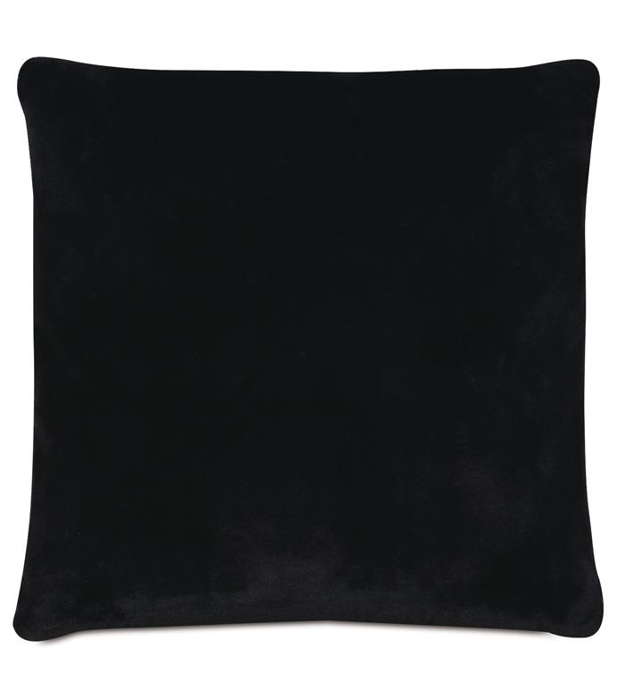 Roxanne Faux Fur Decorative Pillow - PILLOW,FAUX FUR PILLOW,TOSS CUSHION,THROW PILLOW,BLACK PILLOW,WHIMSICAL PILLOW,CUSTOMIZABLE PILLOW,ACCENT PILLOW,HIGH END PILLOW,LUXURY PILLOW,DECORATIVE ACCENT PILLOW,GLAM PILLOW